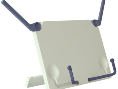 A lightweight, adjustable and portable book stand