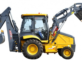 Front End Loader and Backhoe XC870K