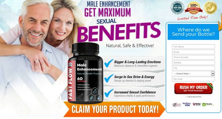 Increase Penis Size With Fast Flow Male Enhancemen