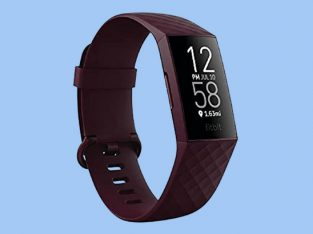 Fitbit Charge 4 Fitness and Activity Tracker with Built-in GPS, Heart Rate, Sleep & Swim Tracking.