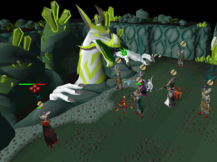 This will be a minigame in runescape that allows players to travel into another world