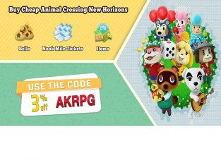 Cheap Animal Crossing Items & Bells For Sale