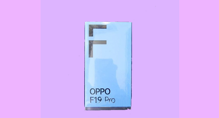OPPO F19 pro official (New)