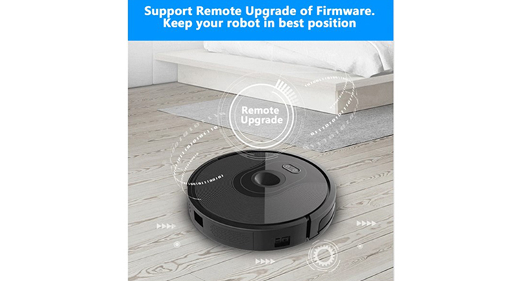 ABIR Vacuum Cleaning Robot x6 with Camera Navigation,Smart Memory,Hand Draw Virtual Blocker,Low Nois