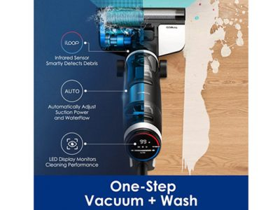 Tineco Floor One S3 Cordless Wireless Wet Dry Smart Vacuum Cleaner For Home Multi-Surface Cleaning