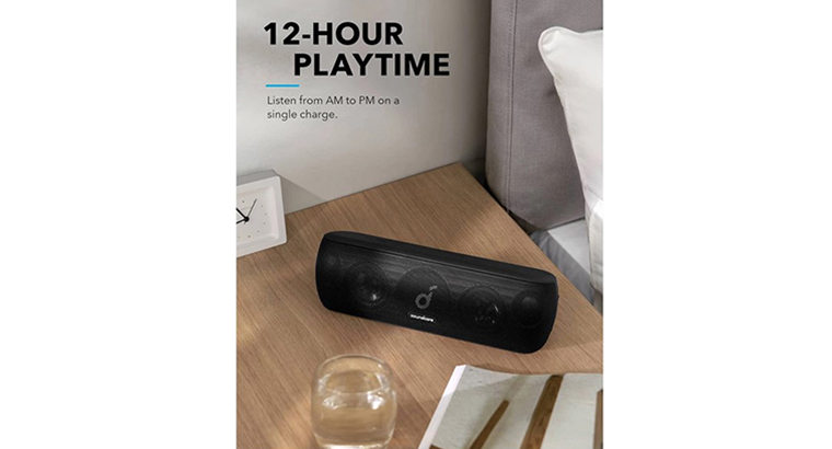 Anker Soundcore Motion+ Bluetooth Speaker with Hi-Res 30W Audio, Extended Bass and Treble, Wireless